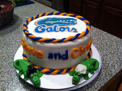 florida gator cake florida gators cake cakes