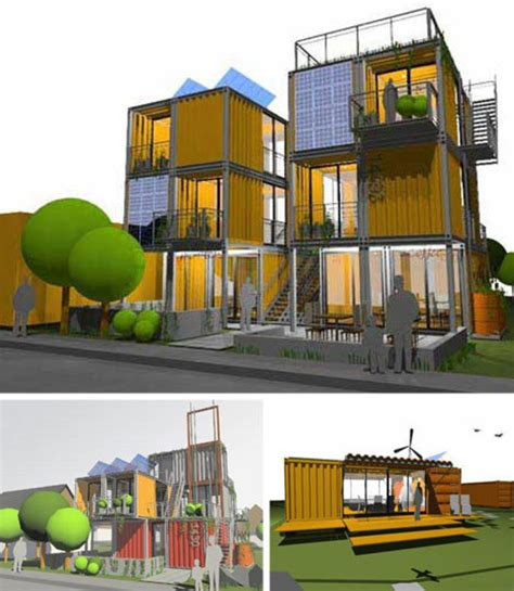 awesome architectural shipping container designs loft spaces emergency housing design bookmark
