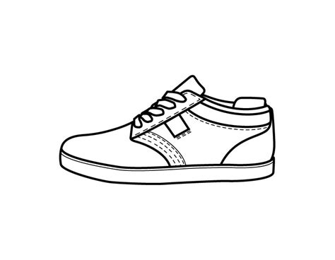 Printable Shoe Coloring Page From Freshcoloring Com Shoe Coloring Pages