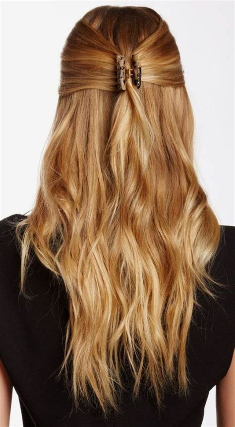 easy updos using claw clips on long hair 25 best ideas about sophisticated hairstyles on pinterest