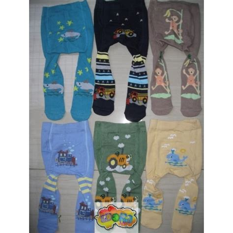 Celana Legging Bayi Cotton Rich 0 6 Boy Part 3 legging cotton rich boy khairunishop