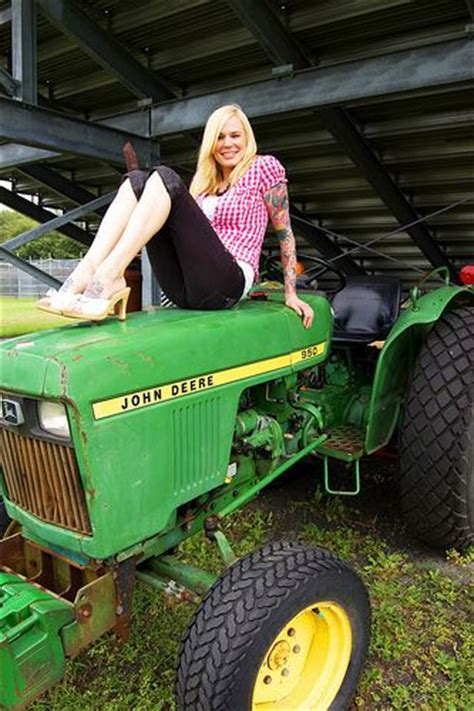 girls on john deere tractors 72 best images about tractor girls on pinterest senior