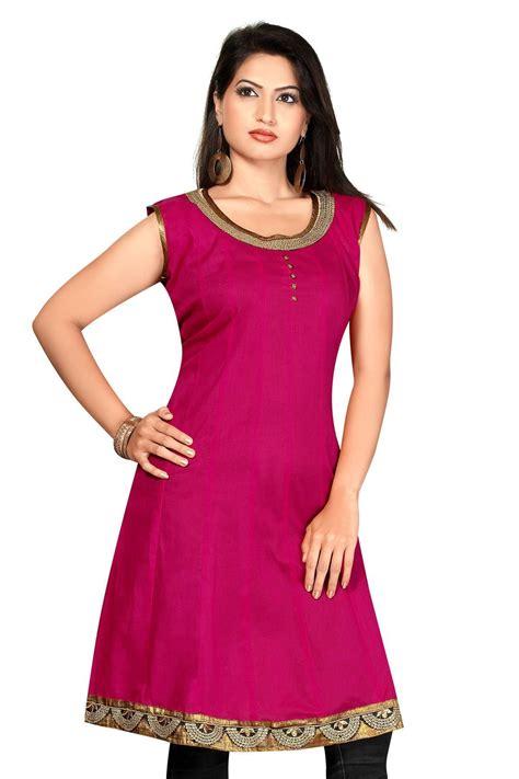 umbrella pattern kurtis pink cotton silk umbrella cambric kurtis with short