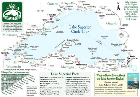 lake superior map simple map of lake superior lake superior magazine