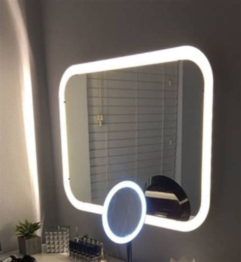 mirror with built in lights storjorm mirror with built in lighting ikea