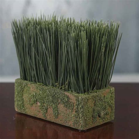 artificial wheat grass planter on sale wedding