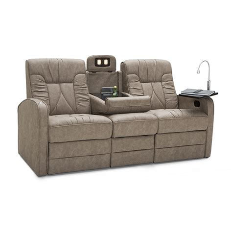 rv couches used de leon rv furniture cer power double recliner sofa