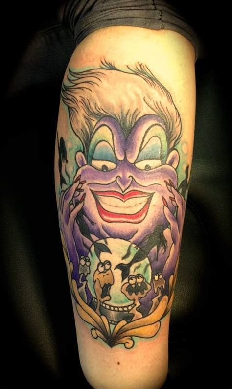 love this ursula tattoo ugh i wish i could get her and