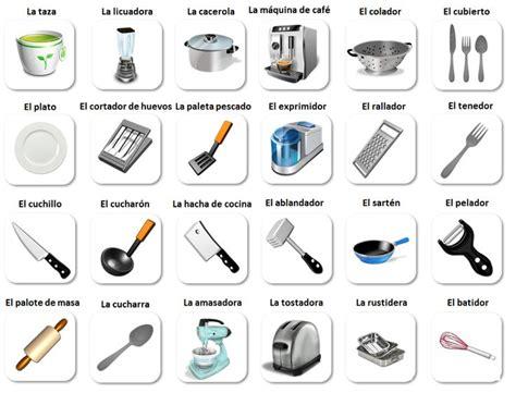 Word For Kitchen by En La Cocina Vocabulario Kitchen Vocabulary