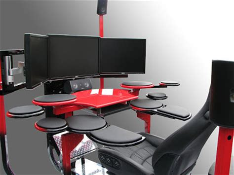 awesome computer desks cool office desks home office furniture blog