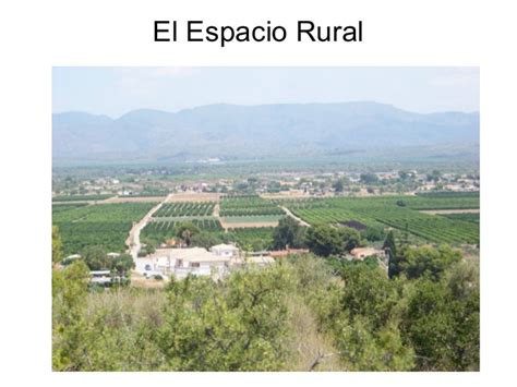 imagenes espacios urbanos y rurales espacio rural i