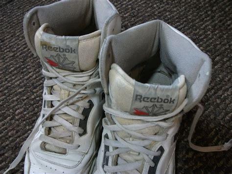 mens vintage reebok bb4600 high top sneakers by