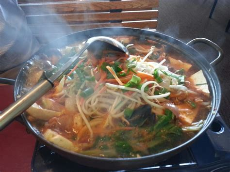 Panda Garden Lincoln Ne by Hae Mool Juhn Gol Seafood Stew With Mussels Octopus