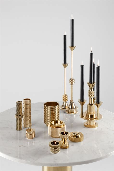 tom dixon desk accessories tom dixon cog collection candle holders and desk tidy