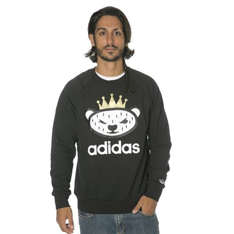 Sweatshirt Adidas 1 adidas originals sweatshirt logo crew bk buy fillow skate shop