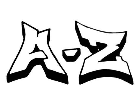 Graffiti Schriftzug Erstellen by Graffiti Buchstaben A Z Buchstaben In 2018