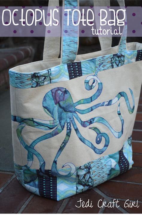 Tote Bag Octopus octopus tote bag