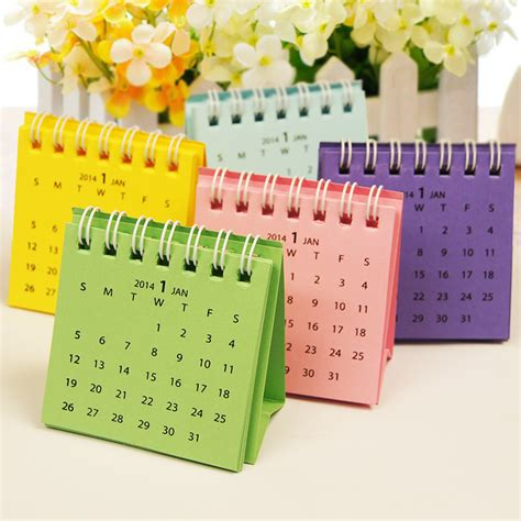 Small Desk Calendars Calendar Pic Picture More Detailed Picture About Mini Multicolour Small Desk Calendar Pocket