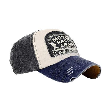 Topi Snapback 4b Hitam jual ormano topi baseball snapback cap motor racing team hitam harga kualitas