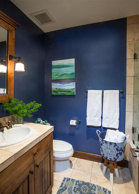 dark blue bathroom ideas elegant and cool blue bathroom ideas for sweet home