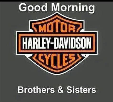 Morning Harley Davidson morning harley davidson morning