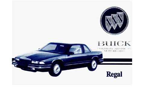 service and repair manuals 2000 buick regal auto manual service manual 1994 buick regal engine pdf service manual motor repair manual 1994 buick