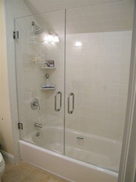 Replacement Of Shower Doors For Tub Shower Glass Door Repair