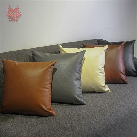 sectional cushion covers sofa cushion covers leather leather couch with fabric