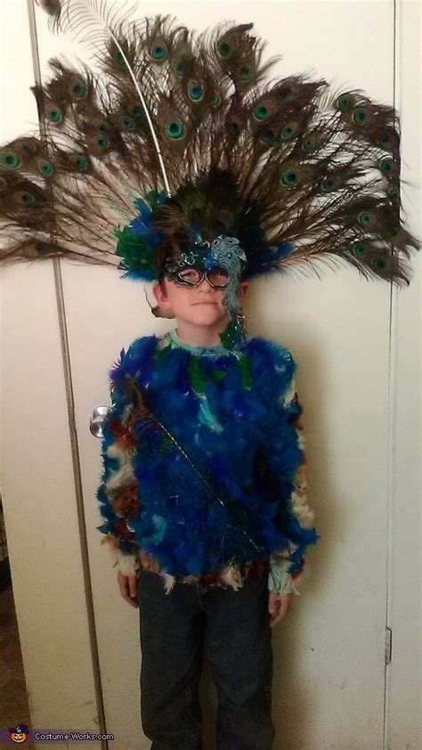 Homemade Halloween Costumes Peacock