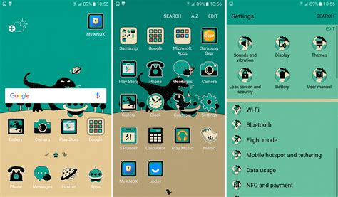 themes by samsung electronics electronics review