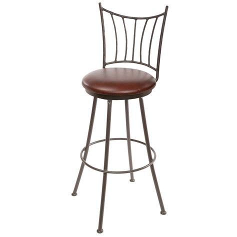 Wrought Iron Bar Stool Ranch Wrought Iron Counter Stool 25 In Seat Height