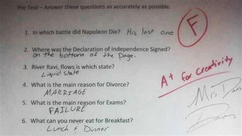 preguntas sin respuesta de futbol test las respuestas m 225 s ingeniosas que se han dado en los