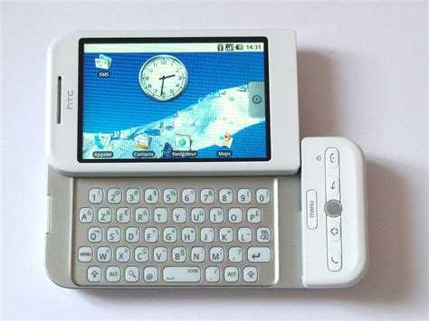 when did the android phone come out htc