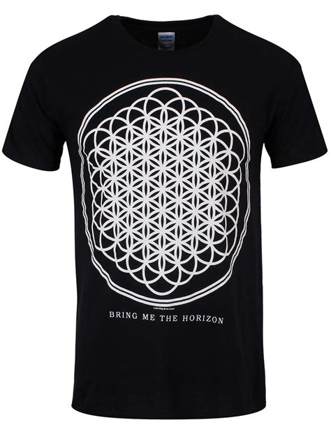 Tshirt Bring Me The Horizon 14 bring me the horizon sempiternal s black t shirt