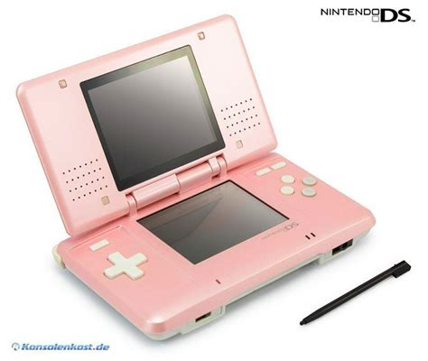 nintendo ds pink console nintendo ds console pink incl power supply mint