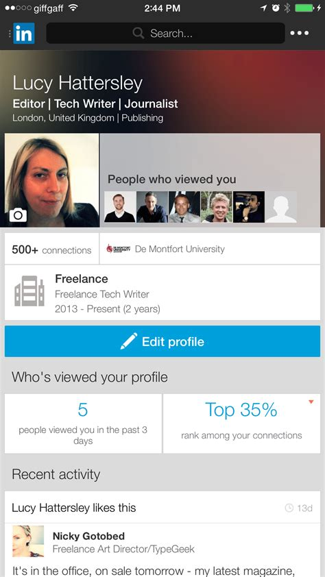 Search Profiles On How To Get The Most Out Of Linkedin S Search App Tapsmart