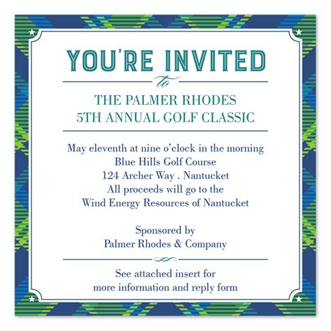 charity golf tournament welcome letter golf event invitation letter cogimbo us