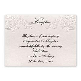Wedding Invitations With Reception Information by Wedding Reception Invitation Gangcraft Net