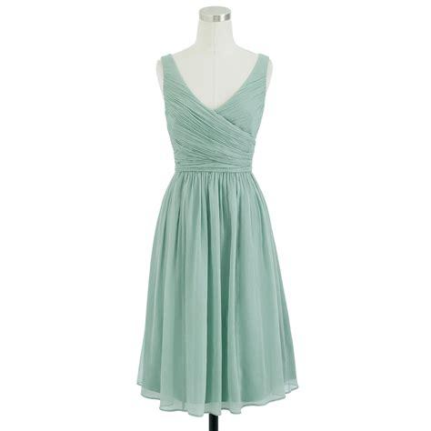 fall color report dusty bridesmaid dress