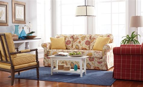 traditional sofas with skirts traditional sleeper sofa with kick pleat skirt by