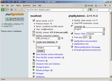 installing xp phpmyadmin download free software phpmyadmin 3 5 1 free download