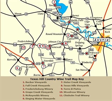 map of fredericksburg texas hill country wine map around fredericksburg tx texan maps country and wine