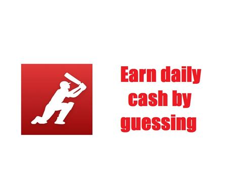 Make Money Online Daily - earn daily cash guessing fantasy cricket techieswag