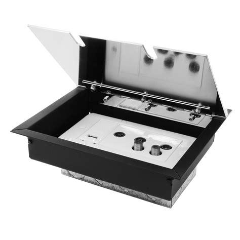 Recessed Floor Box by Recessed Floor Box 2 Recessed Floor Socket Polished