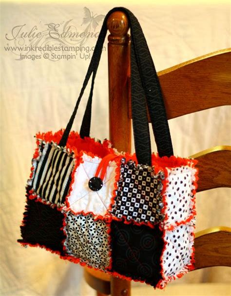 1000 ideas about rag quilt purse on quilted