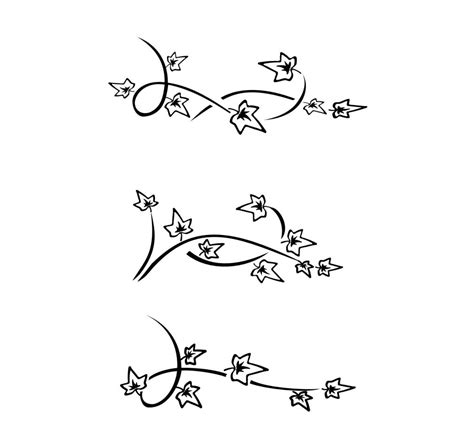 simple vine tattoo designs ivy tattoos design and ideas in 2016 on tattooss net