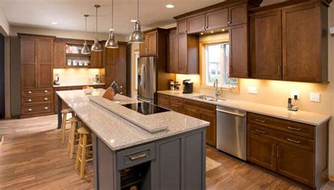updated kitchens that arent white new spaces remodeling