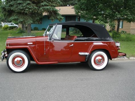 1948 WILLYS JEEPSTER 2 DOOR CONVERTIBLE   93568