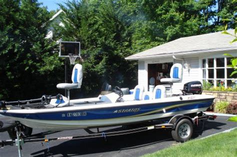 bass tracker boats for sale in maryland boats for sale 2007 17 foot stratos 176xl