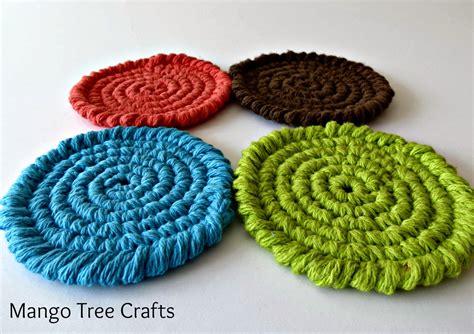 pattern free crochet mango tree crafts free crochet coasters pattern